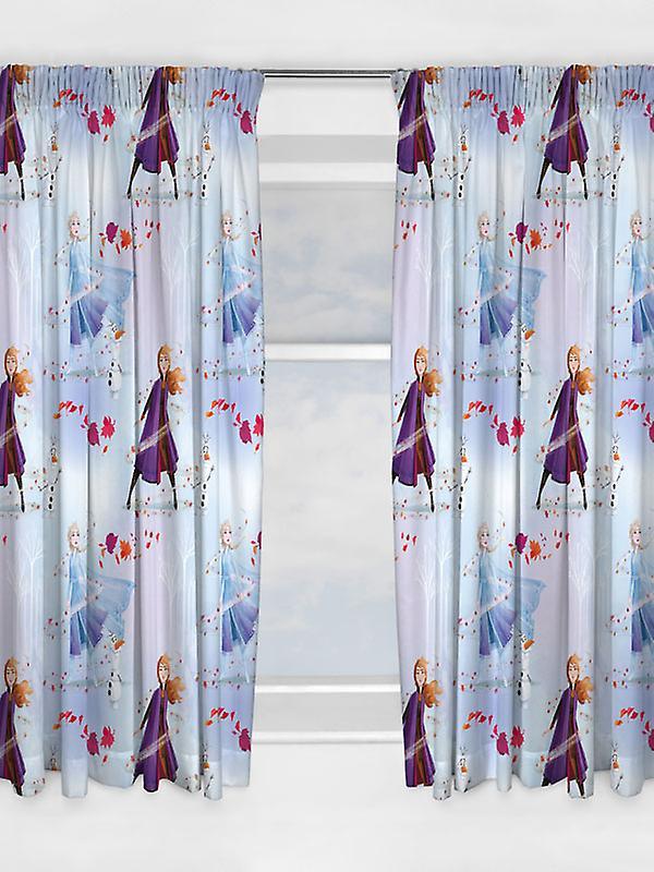 Disney Frozen 2 Element Curtains