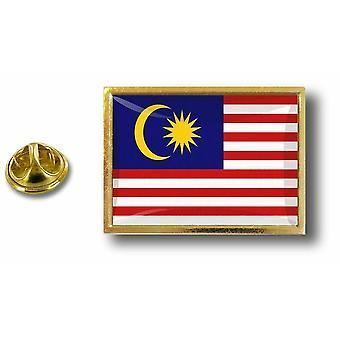 Pins Pin Badge Pin's Metal  Avec Pince Papillon Drapeau Malaisie Malaysien