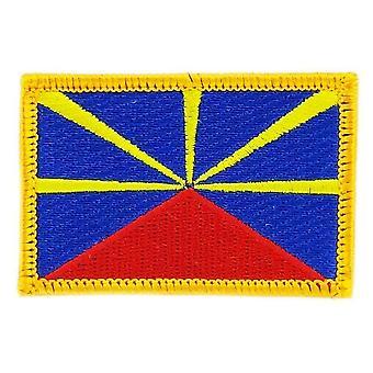 التصحيح التصحيح برود العلم جزيرة دي لا ريونيون 974 الشارة الحرارية بلاسون