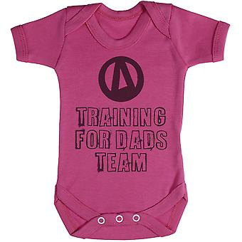 Training For Dads Team - Baby Bodysuit