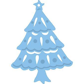 تصميم ماريان شجرة يسجل 2 يموت، المعدن، الأزرق
