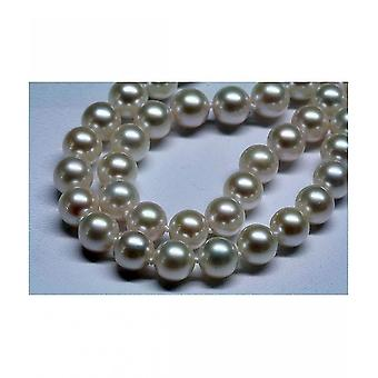 Luna-Pearls Akoya Pearl Necklace Pearl Necklace 9 Diamonds HKS2