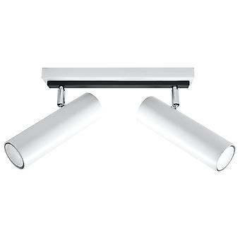 Sollux DIREZIONE 2 Light Spotlight Bar White SL.0496