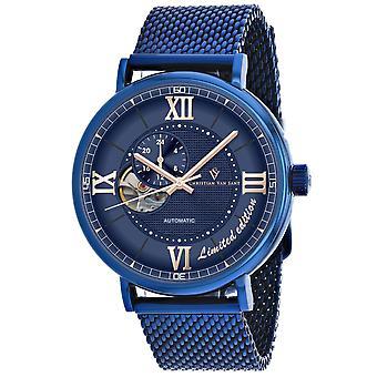 Christian Van Sant Men-apos;s Somptueuse LTD Blue Dial Watch - CV1145