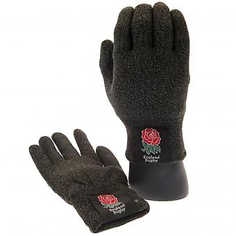 England R.F.U. Luxury Touchscreen Gloves Adult