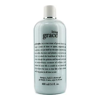 Philosophy Living Grace Shampoo Bath & Shower Gel - 480ml/16oz