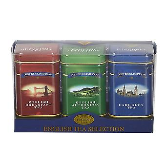 English classic tea selection mini tin gift pack