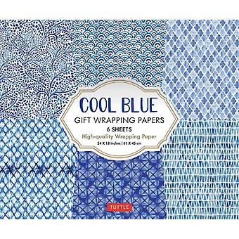 Cool Blue Gift Wrapping Papers by Tuttle Publishing