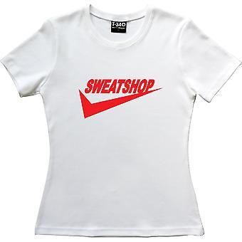 Sweatshop White Women's T-Shirt
