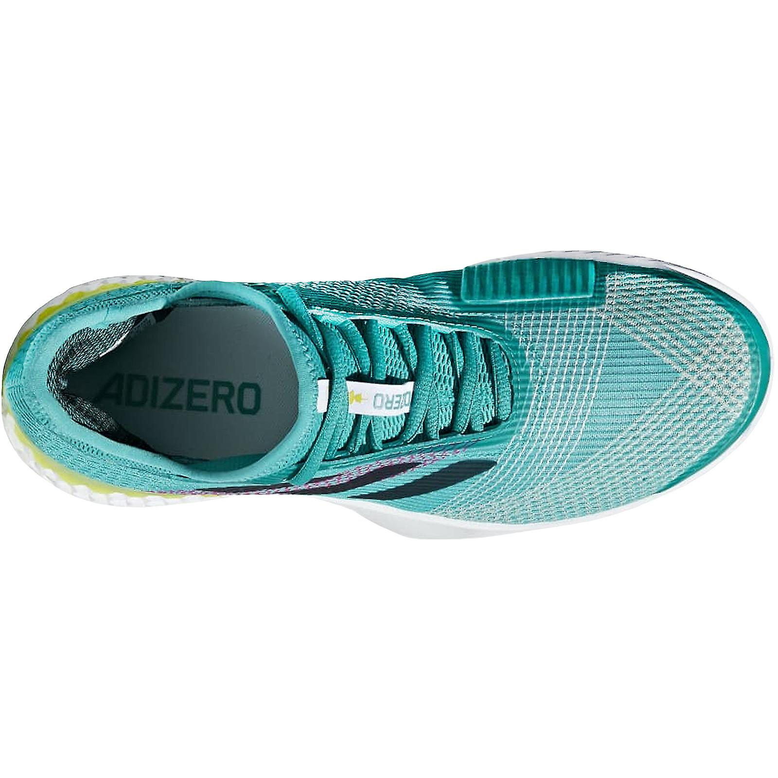 Adidas Performance menns adizero Ubersonic indoor Court tennis trenere-grønn - Spesiell rabatt