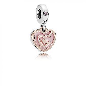 Pandora charm love 787801NBP - Charm labyrinth of love woman