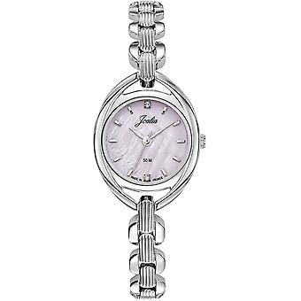Sjekk Certus 633420-JOALIA sølv stål Dial Pink kvinner