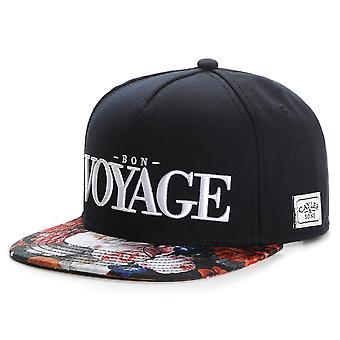 Cayler & sons Snapback Cap - BON VOYAGE black / rose