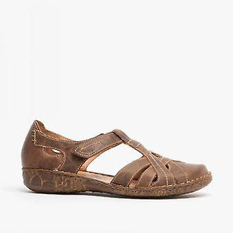 Josef Seibel Rosalie 29 Damen Leder Casual Schuhe Brandy