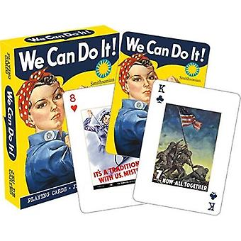 Smithsonian - war posters playing cards