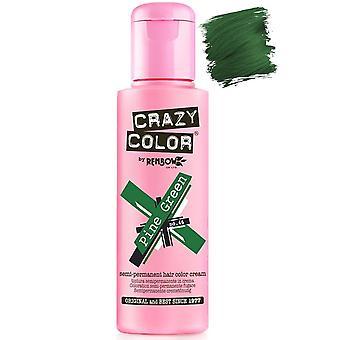 Crazy Color Pine Green Semi-Permanent Hair Dye