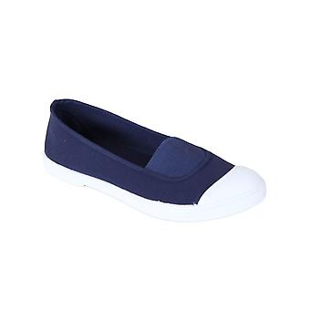 Women's canvas ballerinas