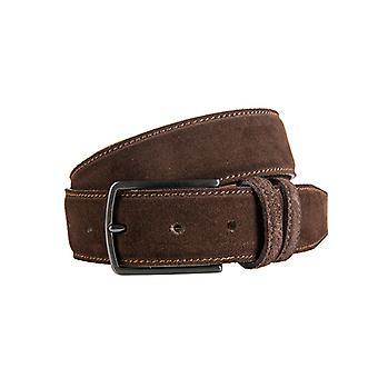 Beautiful Brown Suede Men's Belt