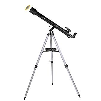 BRESSER Stellar 60/800 AZ - Linsenteleskop mit Smartphone Kamera Adapter