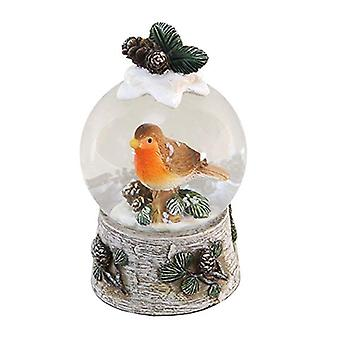 Cute Robin Snowglobe Decoration