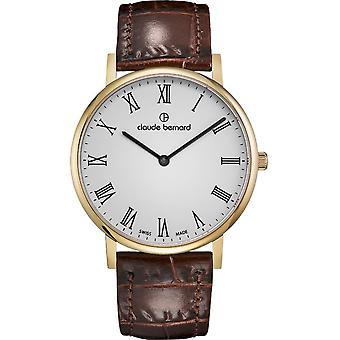 Claude Bernard - Wristwatch - Unisex - Slim Line 41 MM - 20219 37J BR