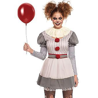 Creepy klaun dospelý kostým