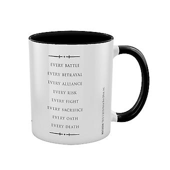 Game of Thrones, Mug - Pour le Trône