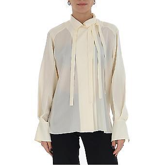 Chloé Chc20uht76307117 Women's White Cotton Shirt