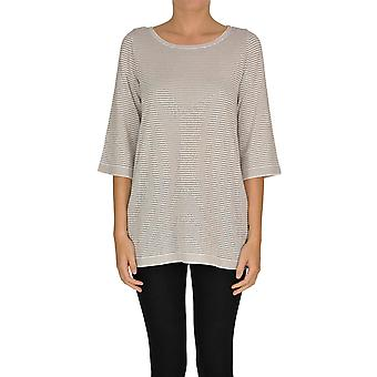 Alessandro Ezgl333018 Women's Grey Viscose Sweater