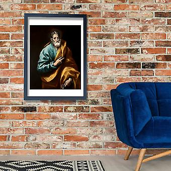El Greco - St. Peter Poster Print Giclee