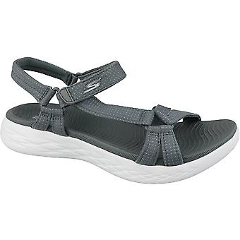 Skechers On The Go 600 15316-CHAR Womens outdoor sandals