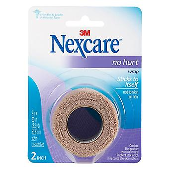 Nexcare no hurt wrap, 2 inch x 2.2 yards, 1 ea