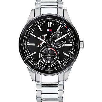 Tommy Hilfiger 1791639 Mens Silver Bracelet Wristwatch