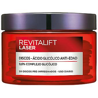 Anti-bruine vlek-en anti verouderingsbehandeling revitalift Laser L ' Oreal make-up (30 ud's)