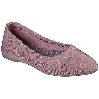 Skechers Womens Cleo Bewitch Wide Fit Slip on Shoes
