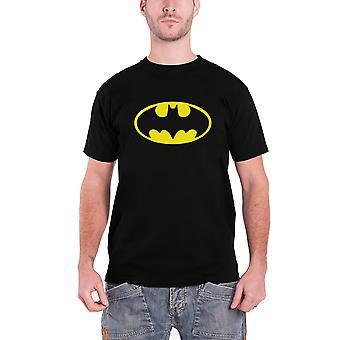 Batman-T Shirt Herren Vintage Batman-Logo neue offizielle DC Comics schwarz