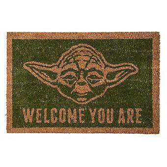 Star Wars, doormat-Yoda