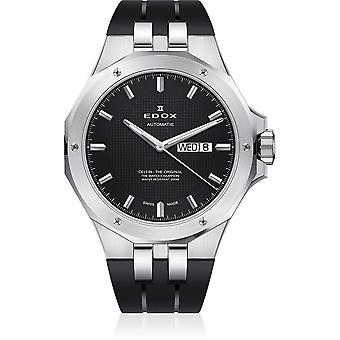 Edox - Wristwatch - Men - Dolphin - Day/Date Automatic - 88005 3CA NIN