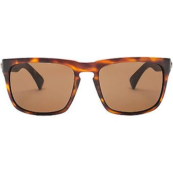 Electric California Knoxville Sunglasses - Matte Tortoise Shell Brown/Bronze