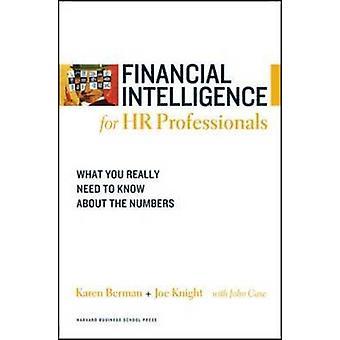 Renseignements financiers pour les professionnels des ressources humaines - ce que vous devez vraiment