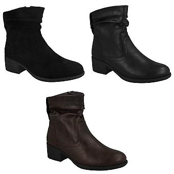 بقعة على المرأة/السيدات أحذية الكاحل Rouched