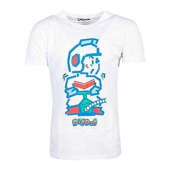 Official Dig Dug Pump Man Men's T-shirt