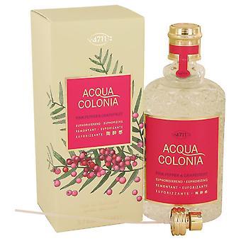 4711 Acqua Colonia Pink Pepper & Grapefruit Eau De Cologne Spray By Maurer & Wirtz 5.7 oz Eau De Cologne Spray