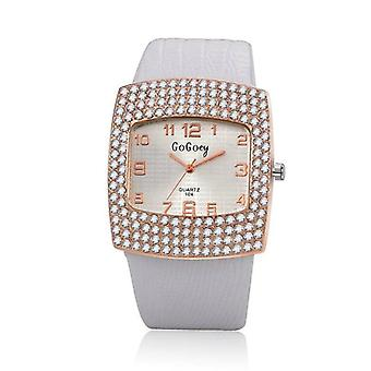 Broadway square crystal watch