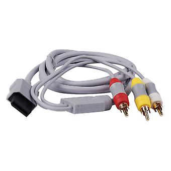 Composite HD AV TV Cable Lead Scart for Nintendo Wii