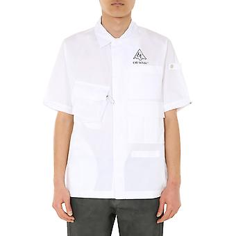 Off-white Omga116s20h920170110 Männer's weiße s Baumwolle Shirt