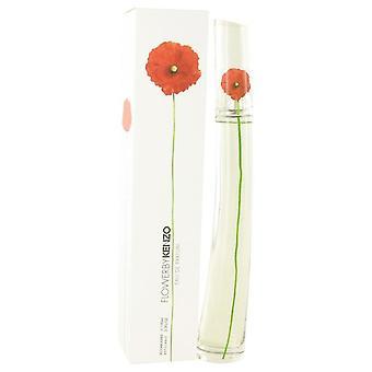 Kenzo Flower Eau De Parfum Spray täytettävien By Kenzo 3,4 oz Eau De Parfum Spray täytettävien