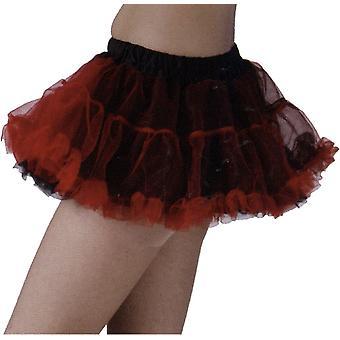 Tutu Skirt Black/Red