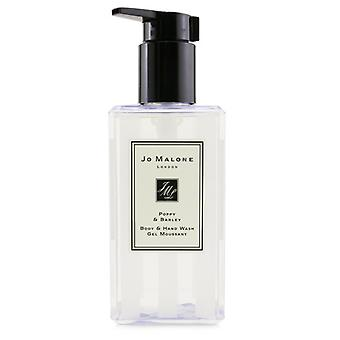 Jo Malone Poppy & Gerst Body & Hand Wash (met pomp) 250ml/8.5oz