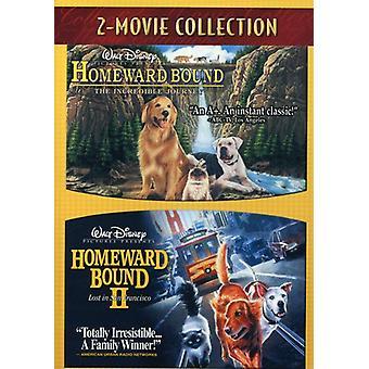 家路のバインド-信じられないほどの旅/ホームワード バインド 2 【 DVD 】 米国のインポートします。